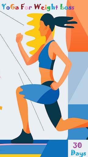 Yoga For Weight Loss(30 days Yoga Plan) Offline 1.0.0 screenshots 1