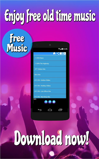 free oldies music downloads for android