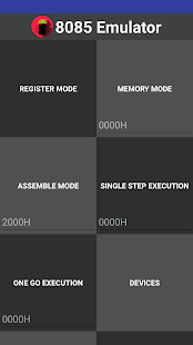 8085 Emulator - náhled