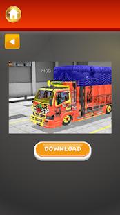 Mod Truck Hino BUSSID Lengkap - náhled