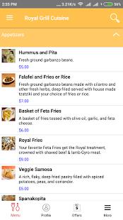 Royal Grill Cuisine screenshot 2