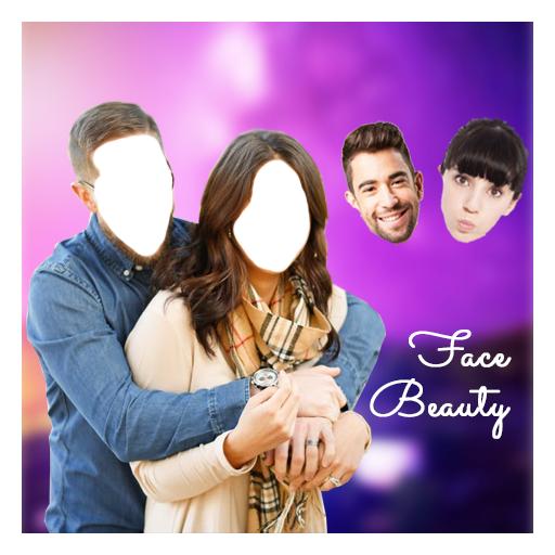 Face Beauty Couple Photo Suit - Photo Editor