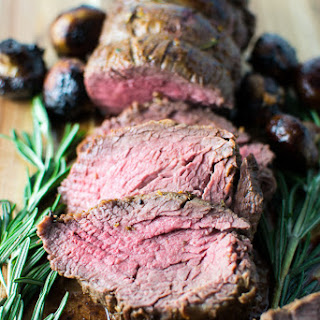 Roasted Beef Tenderloin.