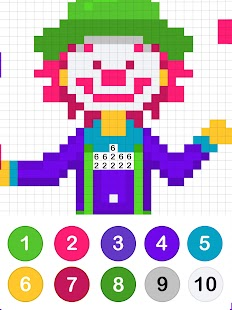 Colors by Number - No.Draw Screenshot