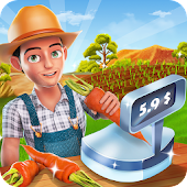 Big Farm Cash Register : Cashier Simulator Game
