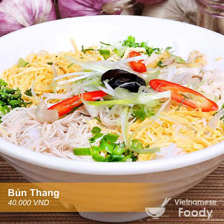 Description Hanoi Chicken Noodle Soup (Bún Thang)