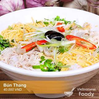 Description Hanoi Chicken Noodle Soup (Bún Thang).