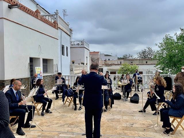 La Agrupación Musical Alto Andarax.