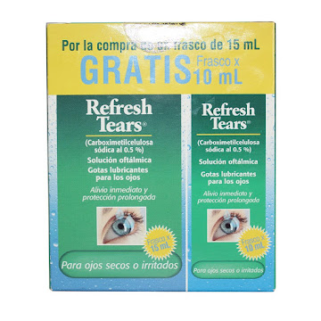 OFERTA REFRESH TEARS X