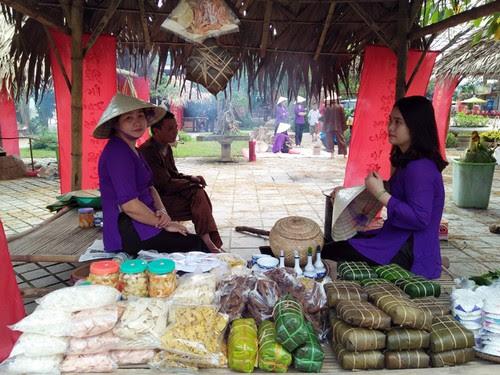 Phong Nha Kẻ Bàng tái hiện chợ Tết xưa