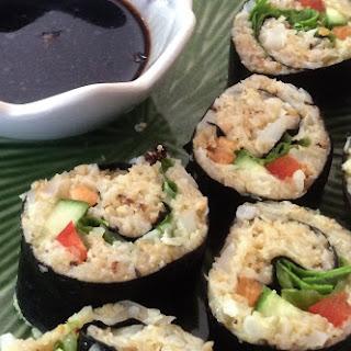 Cauliflower Sushi.