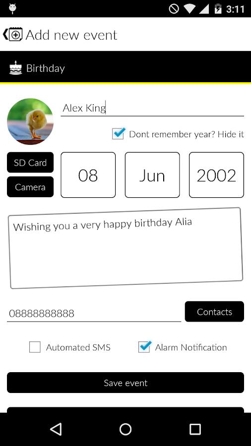 Yaum- screenshot
