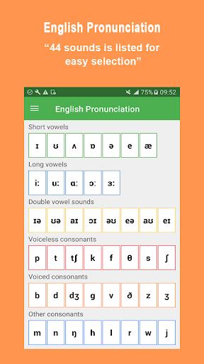English Pronunciation 5.5.5 screenshots 1