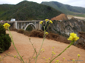 Photo: Bridge on Rt One highway, Big Sur coast