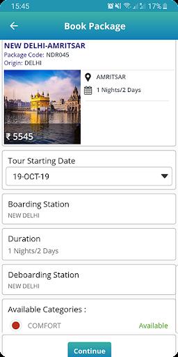 IRCTC Tourism screenshot 6
