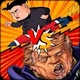 Rocket Man Kim Jong Un VS Angry Donald Trump