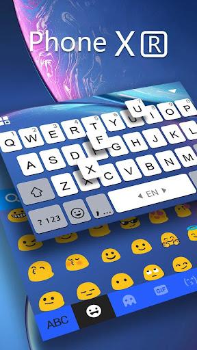 xr new phone keyboard screenshot 3