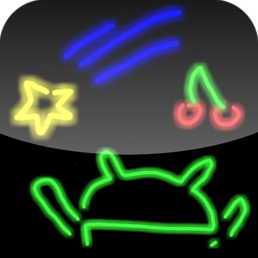 Drawing neon