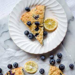 Paleo Lemon Blueberry Scones.
