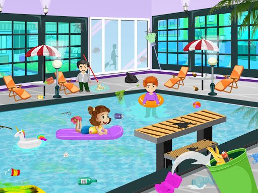 Pretend Play Hotel Cleaning: Doll House Fun 1.1.1 screenshots 9