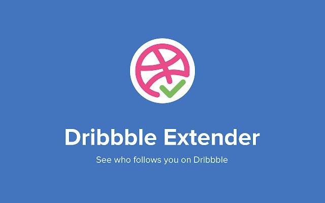 Extenddder - mark followers on Dribbble