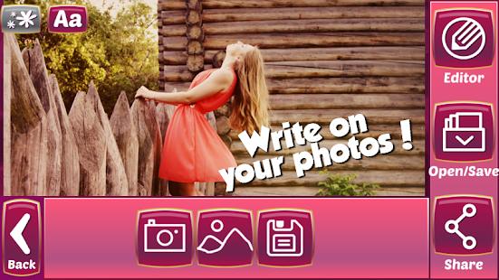 Psaní Textu na Obrázky - náhled
