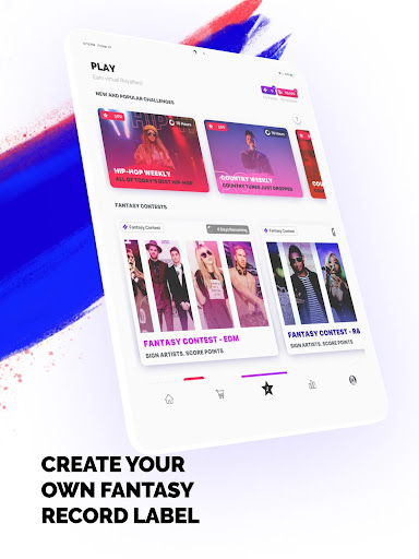 FanLabel - Daily Music Contests 4.7.5 screenshots 12