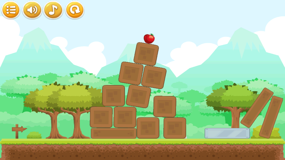 Physics Puzzle Game- screenshot