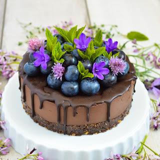 Dark Chocolate Mini Cheesecake.