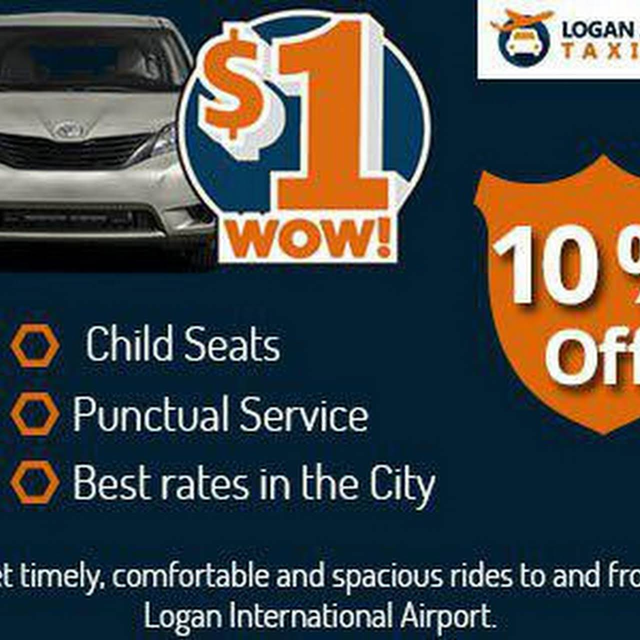 Logan Airport Taxi Cab Car Minivan Suv Service Taxi Service