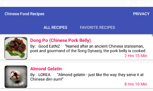 Chinese food recipesfree recipe app apps on google play screenshot image forumfinder Images