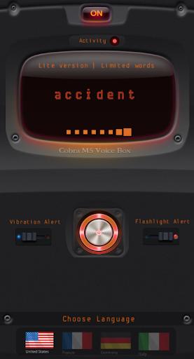 Cobra M5 Voice Box PRO