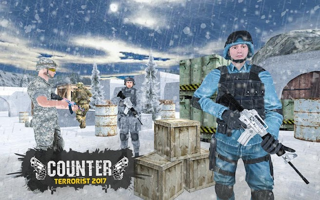 Counter Terrorist 2017 Army Gun Shooting 3D Game screenshot