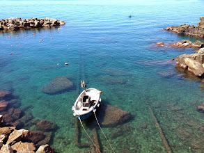 "Photo: ""Clear Blue Sea"" Cinque Terre, Italy Nicole Ross  2nd Place, Landscapes/Seascapes"