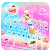 Colorful Bubbles Keyboard Theme