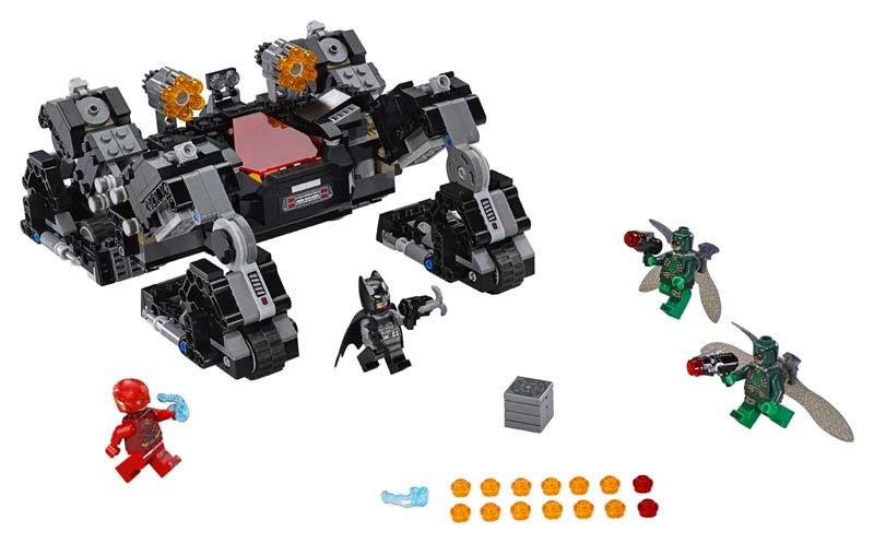 Contenido de Lego® 76086 Ataque Subterráneo del Knightcrawler