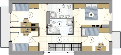 Bruno - Rzut piętra