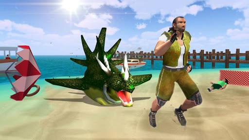 Shark Dragon Simulator 1.4 screenshots 2