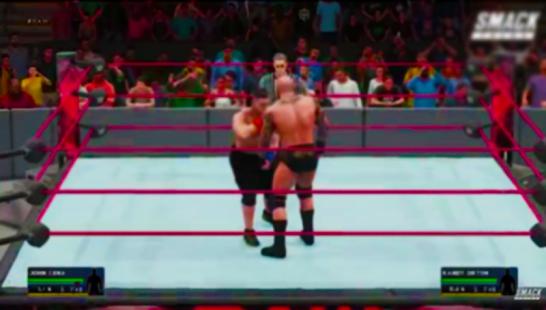 Hints WWE 2K18 - náhled