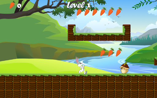 Bunny Run : Peter Legend game (apk) free download for Android/PC/Windows screenshot
