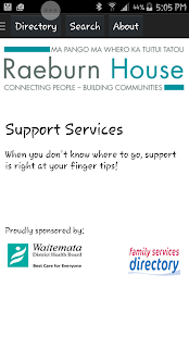 Support Services- screenshot thumbnail