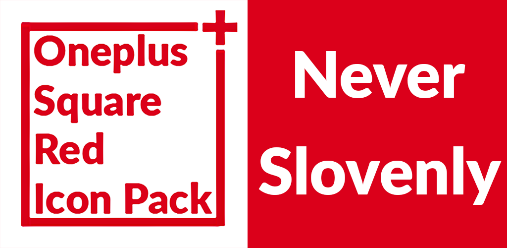 Square Red Icon Pack Oneplus Style 1 1 Apk Download - com