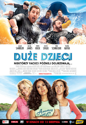 Polski plakat filmu 'Duże Dzieci'