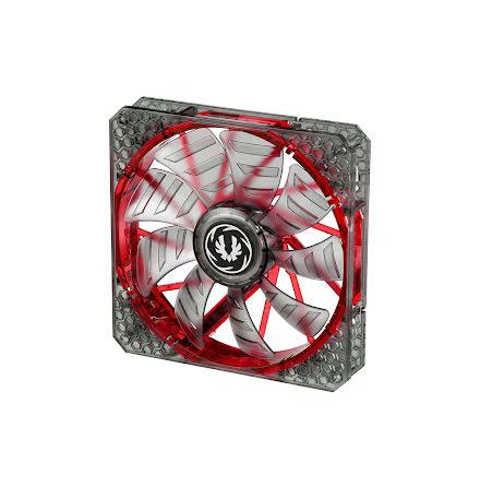 Bitfenix vifte m/rød LED, Spectre PRO, 140x25