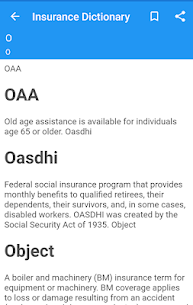 Insurance Dictionary App Latest Version  Download For Android 1