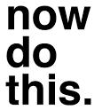 Now Do This icon