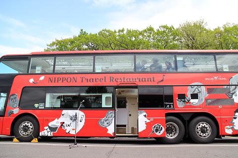 WILLER(網走バス)「レストランバス」1号車 8888 側面_02
