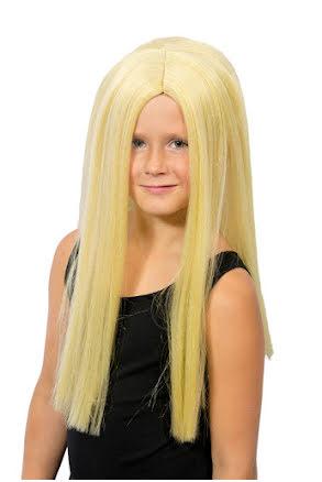 Peruk blondin, barn