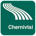 Mapa de Chernivtsi offline icon