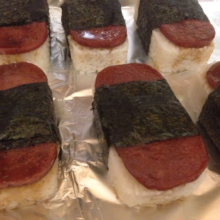 Easy Spam musubi